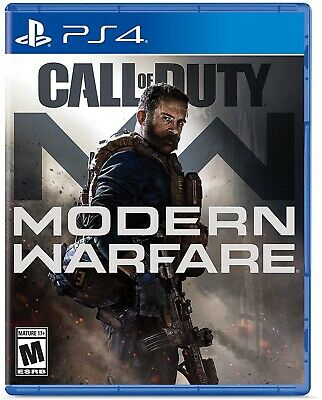 Call Of Duty Modern Warfare BRAND NEW PlayStation 4 SEALED