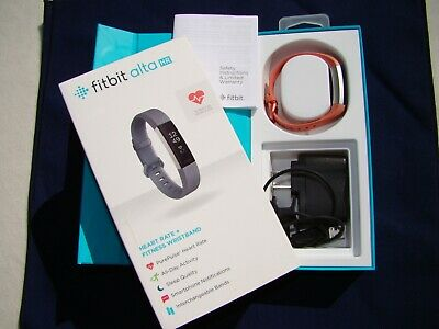 Fitbit Alta HR Activity Tracker & Fitness Wristband FB408SGYS  Small Rose Color