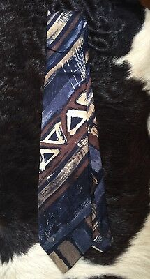 HARRODS Abstract Print Tie