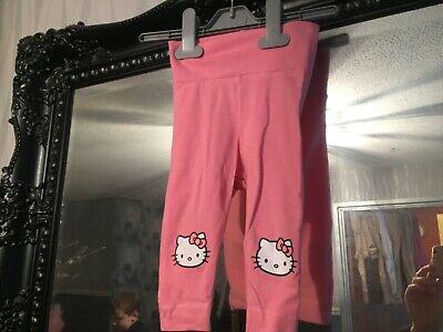 Baby Girls H&M Hello Kitty Pink Leggings Age 3-6 Months