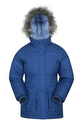 Mountain Warehouse Freeze Over Kids Down Padded Jacket - Adjustable Cuff DWR