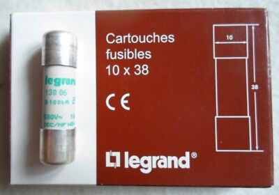 Legrand Cartouches Fuses 10 x 38 Fuses 10 Piece 6A 500V 1013006