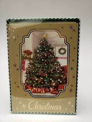 12 Christmas Cards and Envelopes (New Boxed) Navidad, Xmas, Holidays, Greeting