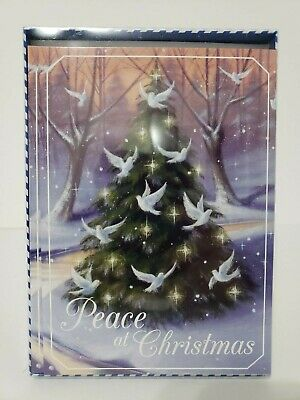 14 Christmas Cards and Envelopes (New Boxed) Navidad, Holidays, Greeting, Xmas