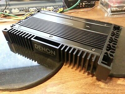 Vintage DENON DCA 3400 Class A  Non Switching Power Amplifier 4/2 channel