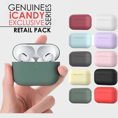 Genuine iCandy Case for Apple AirPods Pro Cover Silicone Skin Holder AirPod 3