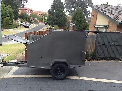 For sale is an Arrow AX6 Go-Kart and trailer package