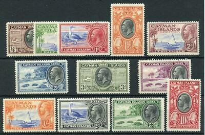 Cayman Islands 1935 set SG96/107 MNH