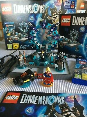 LEGO Dimensions: Starter Pack PS4 No 71171 with exclusive Super Girl Minifigure