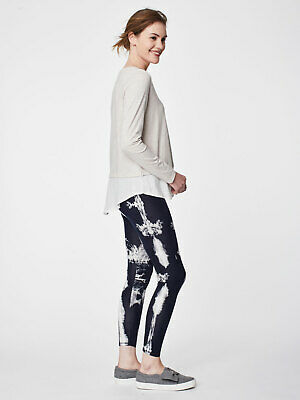 Thought Elsinore Bamboo Organic Cotton Leggings Yoga Ethical