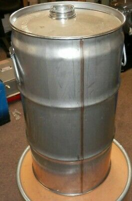 Muller Stainless Steel 7.5 Gal Capacity Reconditioned Drum 1A1 X500/18/ Ch3085