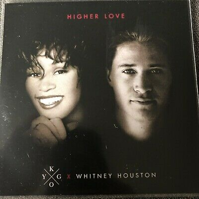 Kygo Ft Whitney Houston - Higher Love -New Genuine 13 Remix Brazilian Promo Cd