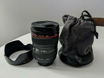 Canon EF 24-105 mm IS USM  Standart Zoom Lens (0344B002) Near Mint Condition