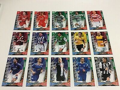 Match Attax Spfl 2019/20 Full Set Of All 15 Legend Cards