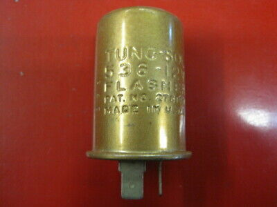 Vtg Tung-sol 554 Flasher 3 Prong 12 Volt Ford//GM Turn Signal//Seat Belt ? Relay