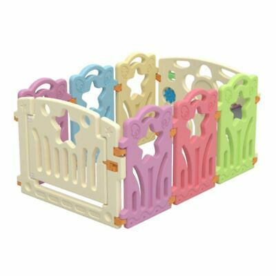 Fence Play Yard Baby Playpens Indoor Outdoor Games Kids Activity Gear Safety