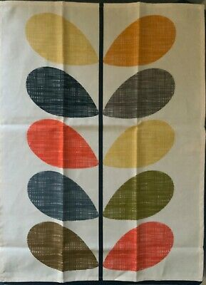 Orla Kiely Scribble Stem Kitchen Tea Towel Cloth