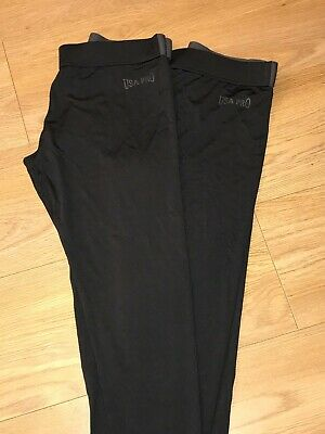 USA Pro Girls Sports Leggings Age 13 New (2 pairs) and Puma Sports Top