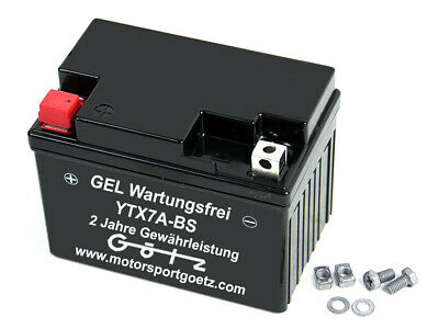 Batterie Gel YTX7A-BS / FTX7A-BS SLA MF