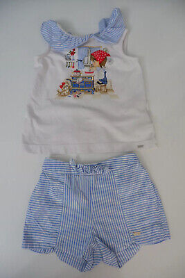 Mayoral Outfit Set Shorts & Top Age 36m Months 3 Years Vgc Girls