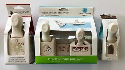 New Martha Stewart punches lot of 3