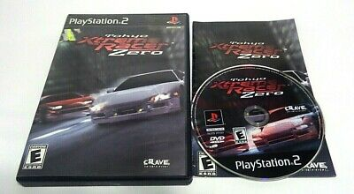 cib Tokyo Xtreme Racer Zero ps2 (Sony PlayStation 2, 2001) complete
