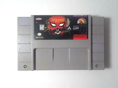 The Amazing Spider-Man: Lethal Foes (Super Nintendo)