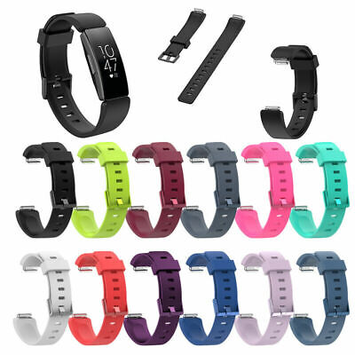 US SALE Silicone Watch Band Wrist Strap Bracelet For Fitbit Inspire/Inspire HR o