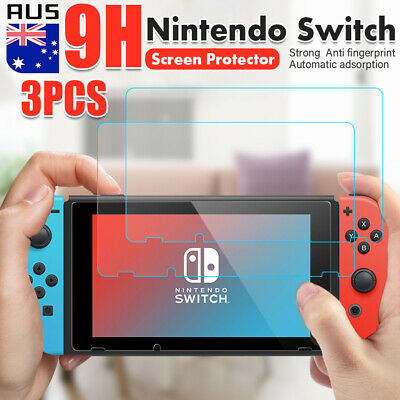 3pcs  9H Nintendo Switch LCD Tempered Glass Screen Protector Film Cover Guard