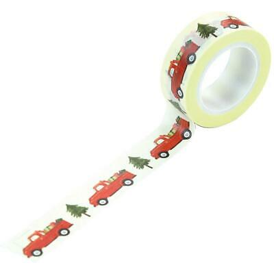 Carta Bella - Christmas Market Decorative Tape 30ft. Market Trucks