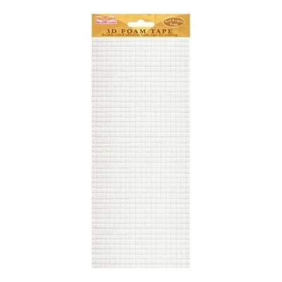 Best Creation Double-Sided Foam Tape Small Squares