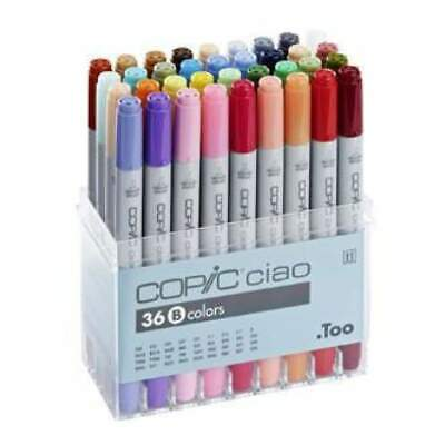 Copic Ciao Markers - Set B 36 Colours