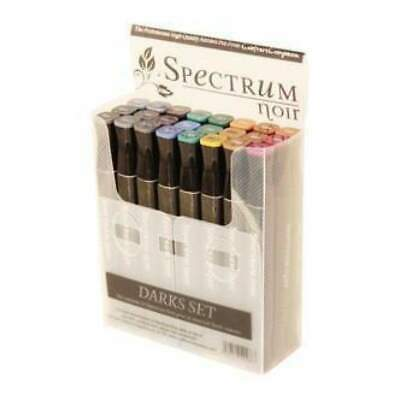 Crafter's Companion - Spectrum Noir Alcohol Markers - Darks