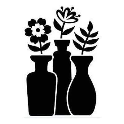 Darice - Embossing Folder 4.25In.X5.75In. - Bud Vase Trio