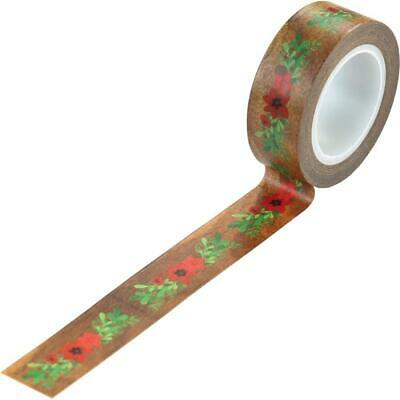 Echo Park - A Cozy Christmas Decorative Tape 30 ft. Floral Swag
