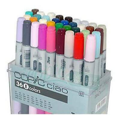 Copic Ciao Markers - Set E 36 Colours