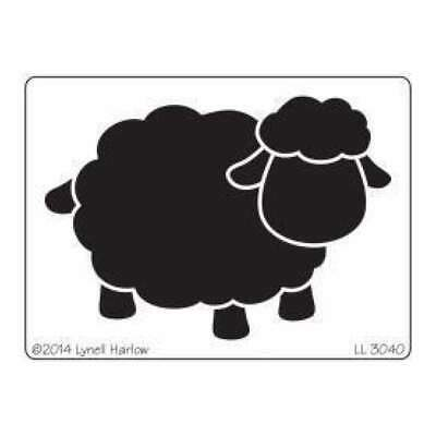 Dreamweaver Metal Stencil 4In. X6.75In.  Open Sheep