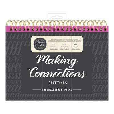 Kelly Creates Small Brush Workbook 11.6 inch X10 inch 128 pack Connections/Greet
