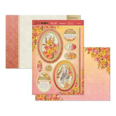 Hunkydory Birth Flowers A4 Topper Set - Gladioula