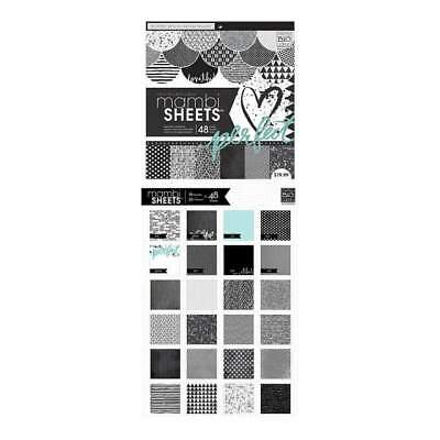 Mambi Paper Pad 12In. X12in. 48 Pack Graphic