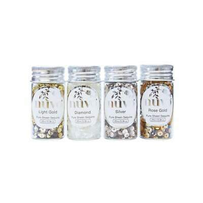Nuvo Pure Sheen Sequins 4 pack Golden Years