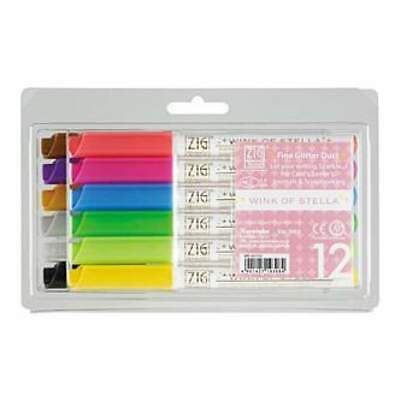 Zig Memory System Wink Of Stella Glitter Markers 12 Pack