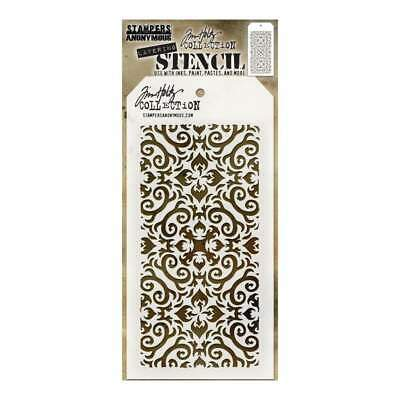 Tim Holtz Layered Stencil 4.125X8.5 Flames