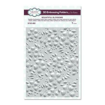 Creative Expressions - 3D Embossing Folder - Bountiful Blossoms