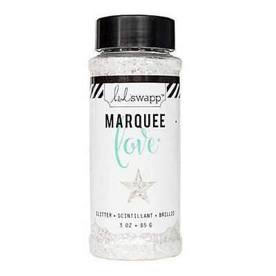 Heidi Swapp Marquee Love Chunky Glitter 3 Ounces/Jar - White