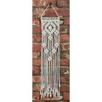 Solid Oak - Small Format Macrame Kit - Lacy Squares