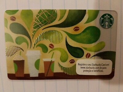Starbucks Brazil Coffee House 2015 Gift Card.  PIN intact
