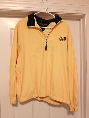 Tommy Hilfiger Golf Men's Women's LSU Tigers Logo Quarter Zip Pullover