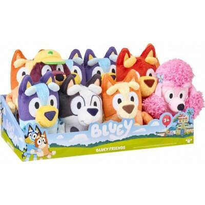 Bluey Small Plush - Choose from Bluey and bingo From Moose Toys