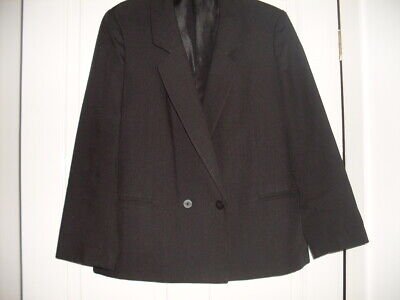 St Michael Ladies Blazer - Size 12 -Black